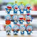J300 Creative 12pcs/lot PVC Doraemon 3cm Action Figure Toys Collections Kids Gifts Wholesale