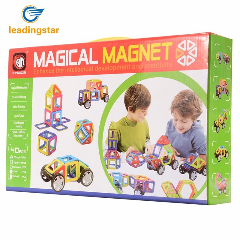 LeadingStar 40PCS Parent-child Magnetic Building Blocks Set shape Activities DIY Toys Kids Toys with Wheel Toys 702 hp17 17 y061ur [1bx27ea] 17 3 1600x900 amd e2 7110 4gb ssd128gb m 2 dvd rw w10 red