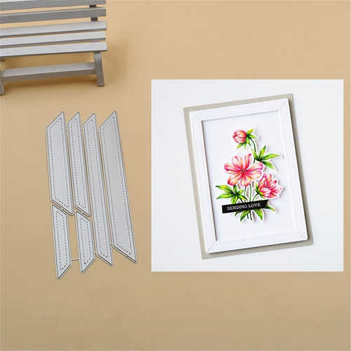 Frame die Collection Metal Cutting Dies Stencils for DIY Scrapbook Photo Album Paper Card Decorative Craft Embossing Die 2019