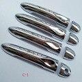 Бесплатная доставка Для Renault SCENIC 2011 2012 2013 дверная ручка крышки ABS Chrome 8 шт. автомобильные аксессуары