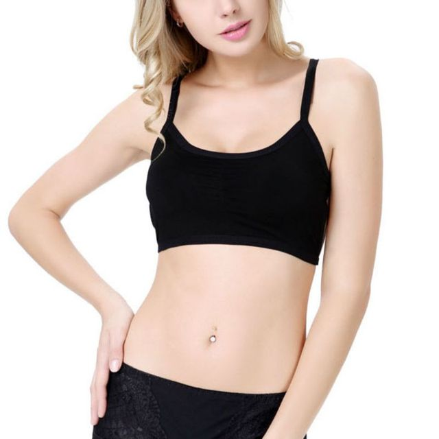 9f66097c5f0bc Summer Women Sexy Cross Strap Padded Backless Wrapped Chest Tank Crop Top  Women Slim Vest Short