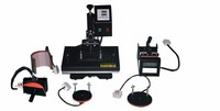 brand new 6 In 1 Combo 110V,220V, Plate/Mug/Cap/TShirt heat transfer press Sublimation machine