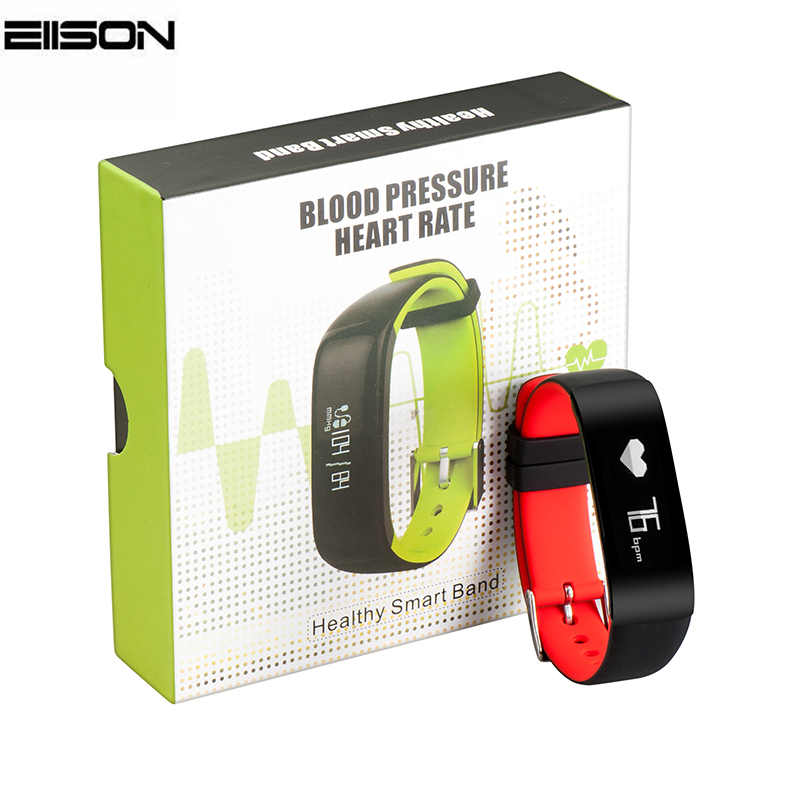 P1 Bluetooth Smartband Blood Pressure Monitor Heart Rate Monitor Wristband Water