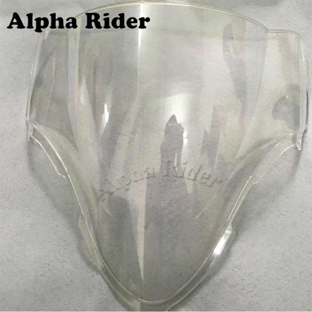 Новый Ясный ABS для мотоциклов лобовое стекло ветрового стекла для Suzuki HAYABUSA GSXR 1300 1997-2007 GSXR1300 97-07 06 05 04 03 02 01 00 99 98