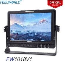 "FEELWORLD FW1018V1 10.1 ""IPS 1920x1200 HDMI מצלמה שדה צג dslr צג שולחן העבודה LCD צג צילום סטודיו SONY ניקון"