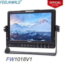"FEELWORLD FW1018V1 10.1 ""IPS 1920x1200 HDMI field monitor dslr monitor จอ LCD Monitor สตูดิโอถ่ายภาพ SONY NIKON"