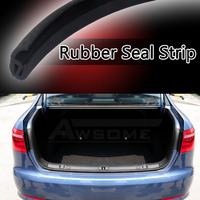 Free Shipping 12 Vehicle Truck Wind Noise Removal Rubbler Edge Seal Trim Weather Strip Clamp