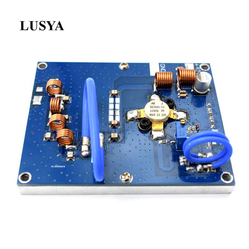 Lusya new 150W 70 120M 76 108MHZ up to 200W RF FM transmitter amplifier for hifi