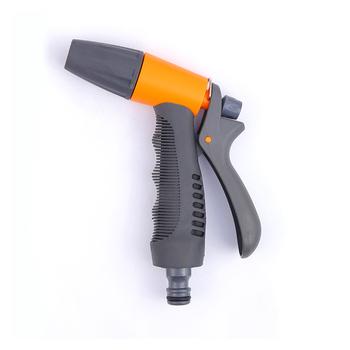 Dysze węża ogrodowego 2 wzór pistolet na wodę końcówka zraszająca do węża do mycia samochodu czyszczenie podlewanie trawnik i ogród posypać tanie i dobre opinie Effosola Opryskiwacze Z tworzywa sztucznego Zmienna spray wzory Other Ogród pistolety wodne 2 pattern Orange and Black