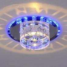 Aisle lights corridor lamp LED crystal lamp lighting modern minimalist lighting creative entrance genuine Ceiling Light SD124
