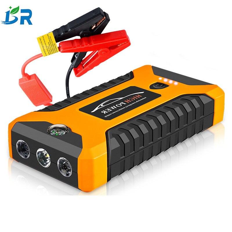 Démarreur de saut 12 V 4USB 600A chargeur de batterie de voiture Portable Booster batterie externe dispositif de démarrage Buster