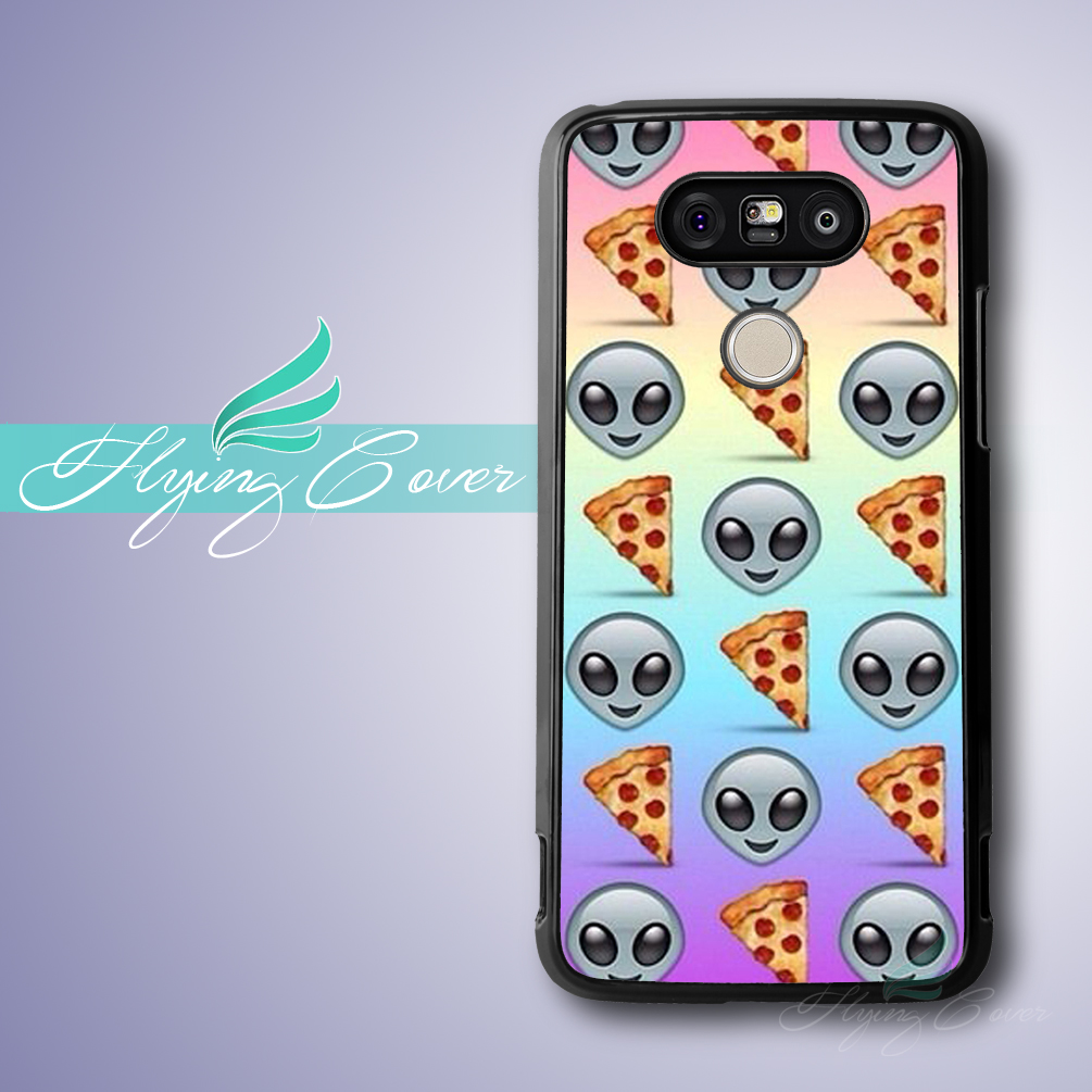 Capa絵文字ピザ新しいファッション電話ケースlg g5 g4 g3ソニーのxperia z3 z2 z1ケース用blackberry z10  q10ケース。