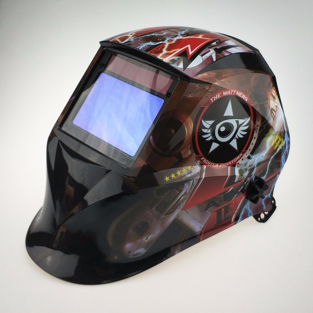 Solar Auto Darkening Welding Mask Top Optical Class 1111 100x65mm 3 9x2 5 4 Sensors Welder