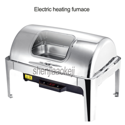 Commercial Hotel restaurant Single basin buffet stove Electric heating furnace Stainless steel meal stove  220v /110v 500w 1pc