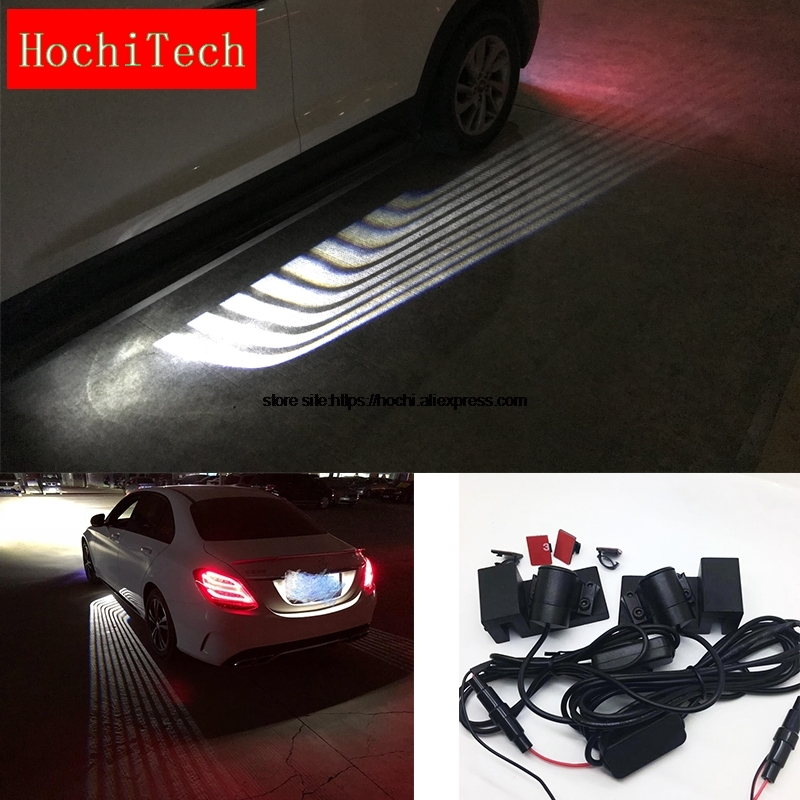 HochiTech High quality Waterproof Car Door LED Lighting Welcome Ghost Courtesy Angel Wing Projector Light All Car Universal Type