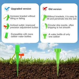 Image 3 - 20 adet/takım bahçe koni tembel kontrol ayarlanabilir otomatik sulama kitleri bitki çiçek sulama şişe sulama sistemi damla gemi