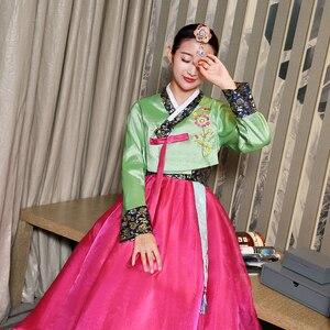 Image 4 - Новое поступление, Женский костюм для народного танца, 6 цветов