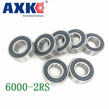 Axk 6000-2rs Lager Abec-5 (10 stücke) 10x26x8 Mm Tiefe Nut 6000 2rs Kugellager 6000rs 180100 Rs