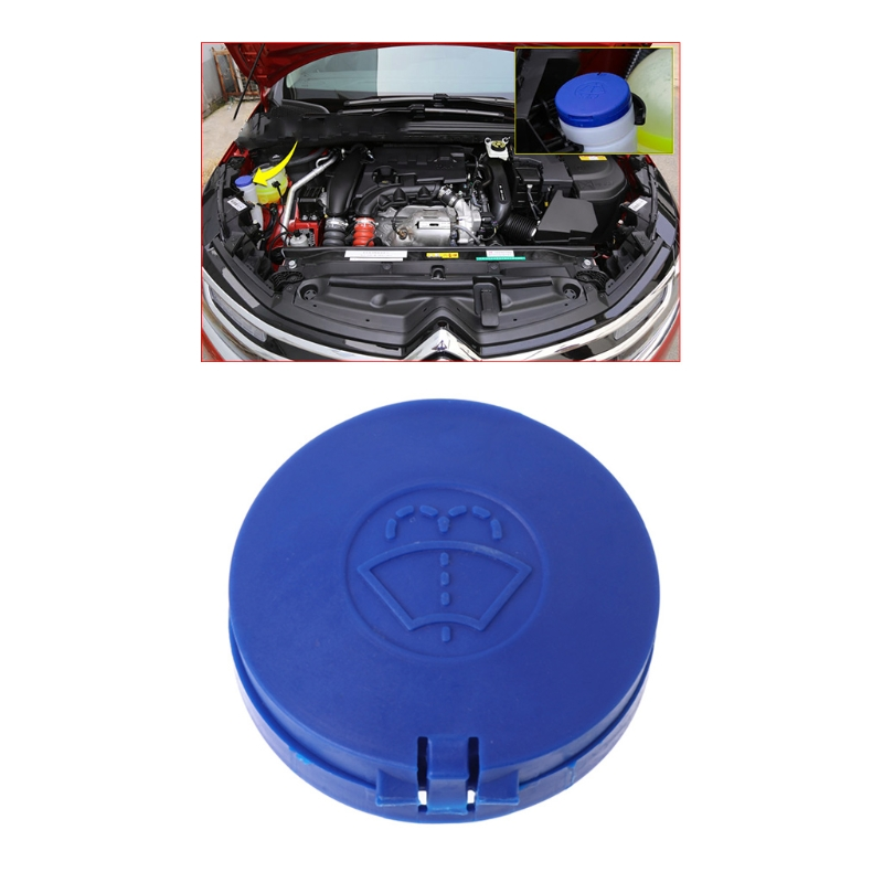 Blue Car Windshield Washer Bottle Cap Cover for Peugeot 301 307 308 408 508 /Citroen