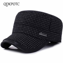 14ebf023 QDKPOTC 2018 Autumn Winter Baseball Caps Outdoor Cotton Snapback Hats For  Men