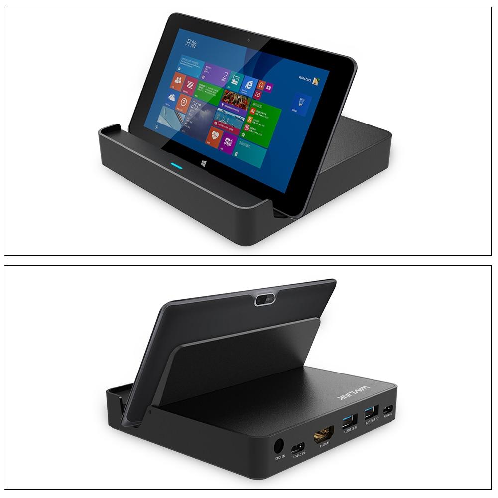Wavlink Mini USB3.1 Universal USB док станциясы - Ноутбуктердің аксессуарлары - фото 3