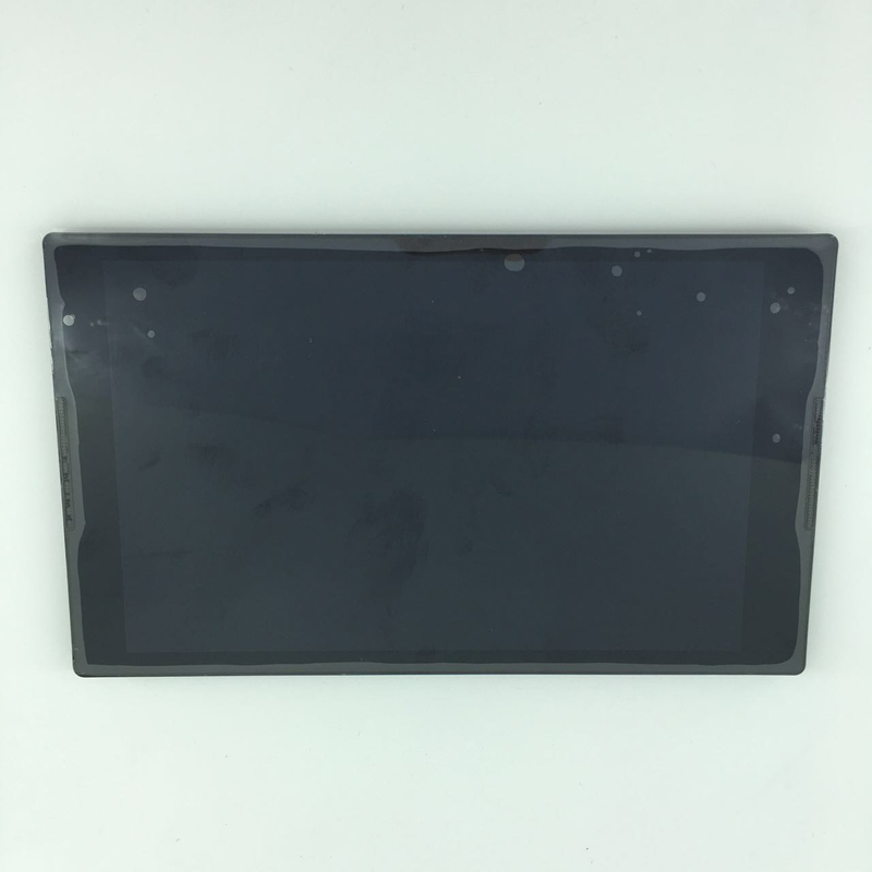 used parts 8 LCD display + touch screen digitizer Assembly with frame For Lenovo Tab S8-50 S8-50F S8-50L S8-50LC black no logo for lenovo vibe p1 lcd display touch screen digitizer assembly with frame replacement parts free shipping track number