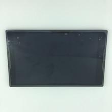 """Piezas usadas 8 """"pantalla LCD + pantalla táctil digitalizador Asamblea con marco Para Lenovo Tab S8-50 S8-50F S8-50L S8-50LC negro sin logotipo"""