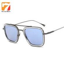 Fashion Square gafas de Sol Mujeres Hombres Diseñador de la Marca Gafas de Sol de La Vendimia Para Las Señoras Shades Oculos