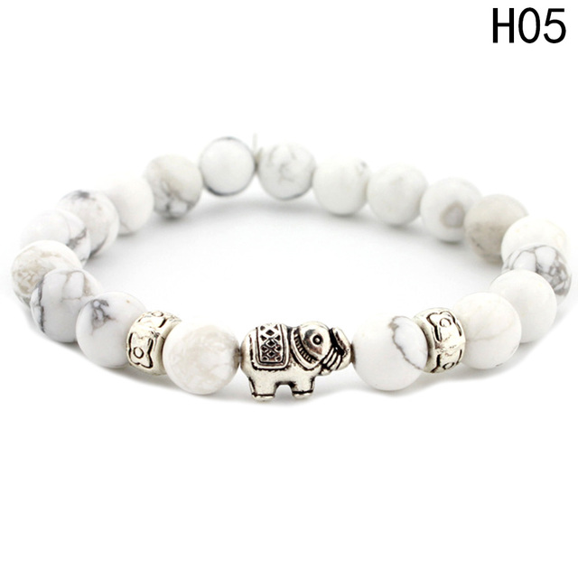 New Beads Bracelets For Women Bohemia Elephant Tassel Charm Bracelets & Bangles