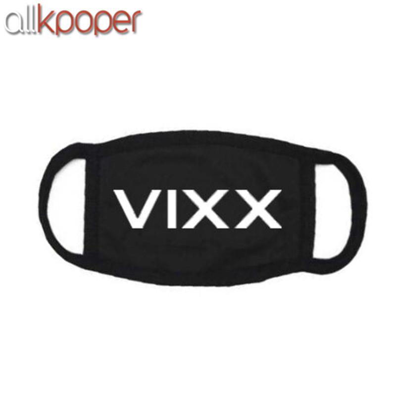 5PCs ALLKPOPER KPOP VIXX Mouth Mask Muffle LEO Fashion Mouth Face Respirator Ken Ravi Hyuk Facial Masks
