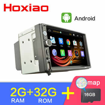 Android 2G RAM 32G ROM Car Radio Stereo GPS Navigation Bluetooth USB SD 2 Din Touch Car Multimedia Player Audio Player Autoradio - DISCOUNT ITEM  45 OFF Automobiles & Motorcycles
