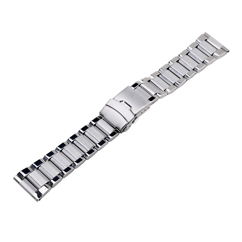 Stainless Steel Band For Hours Watches Accessories Unisex Watch Top Grade Band Double Flip Lock Button