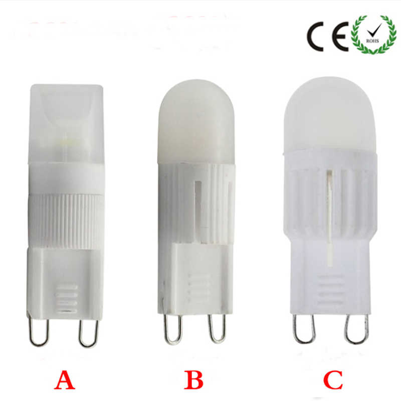 10X LED Lamp G9 110V 220V 5W Mini LED G9 BulbLamp Ceramic Crystal High Power High Transmittance LED Spot Light Free Shipping