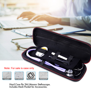 Image 3 - Multifunction Top Stethoscope Hard Carrying Bag Case For 3M Littmann Classic III / MDF / ADC / Omron,Mesh Pocket for acceeories