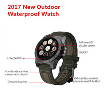GOLEDNSPIKE New N10B Smart Watch waterproof heart rate monitor Bluetooth Compass for iOS and Android smartphone PK G3 X5 K18