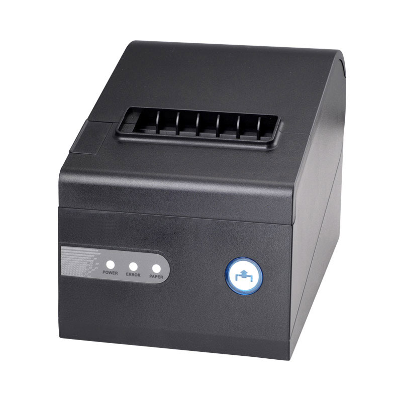 High speed 230mm/s 80mm Auto cutter Thermal Printer Kitchen Printers POS Receipt Printer USB/Serial Ports/Parallel/Lan 80mm high speed 300mm s thermal receipt printer auto cutter windows android ios bluetooth pos printer
