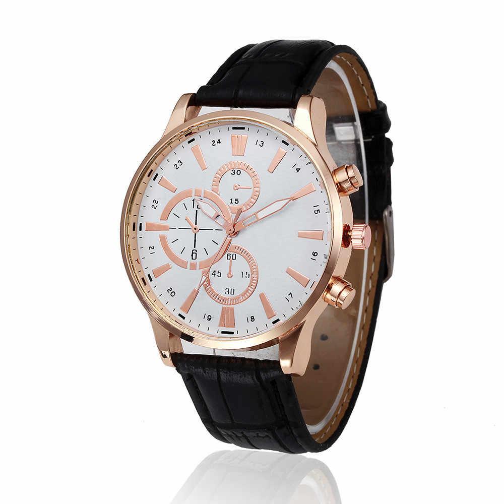 Mens שעונים למעלה מותג יוקרה Relogio Masculino רטרו עיצוב עור שעון צבאי צבא עסקי זכר שעון שעוני יד