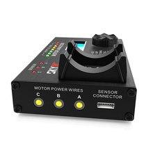 SKYRC BL motor analyzer SK-500020 brushless motor KV current voltage speed rpm noise level hall sensor effect checker tester