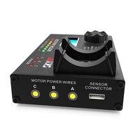 SKYRC analizator SK-500020 BL silnik bezszczotkowy KV napięcia prądu prędkości obrotów poziom hałasu hall sensor efekt checker tester
