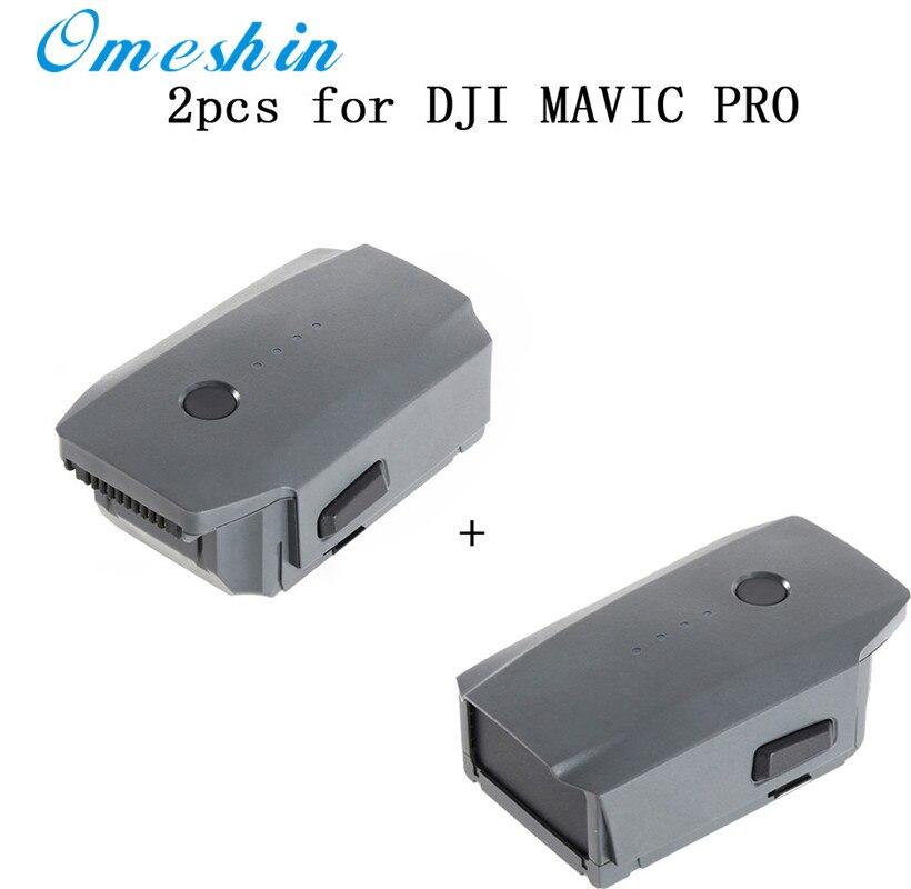 Лидер продаж 2 шт. 3830 мАч Интеллектуальный полета Батарея для DJI Мавик Pro QuadCopter Дрон Прямая поставка 0425
