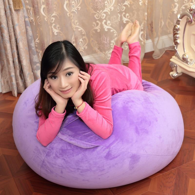 Beanbag chair Work Peas sofa Granule lovely No bones beanbag individual bedroom Small sofa Tatami 9 colors