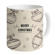 Creative Boat Mugs Coffee Ceramic Merry Christmas Unique Milk Breakfast Water Cute Beige Mug Caneca Print Camping Fishing(China)