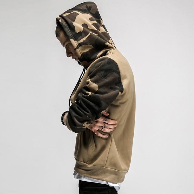 STYLE Printed Camouflage Hoodie