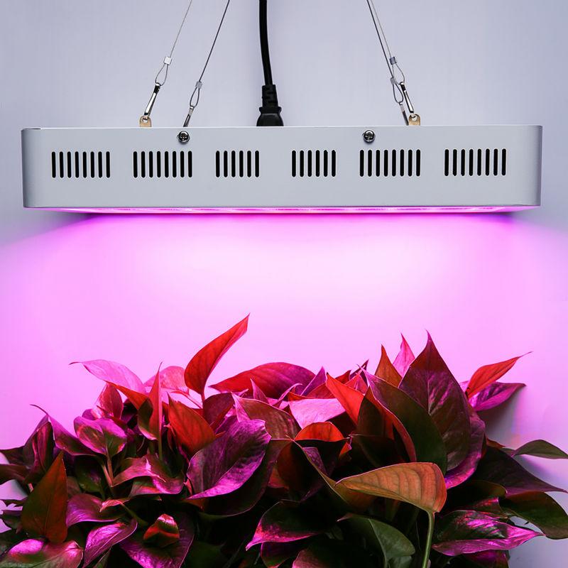 1500 W Led Bitkiler Büyümek için Tam Spektrum Kapalı Bitkiler Sebze ve Çiçek ile Süper Çift Çip 10 W LED Boncuk Topraksız Lamba Büyümek