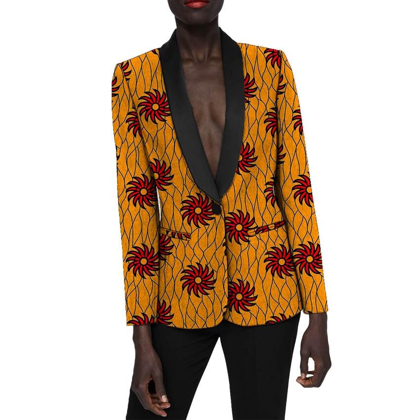 De Costume 2 Dames Mariage Africaine Ankara Tenue Manteau 4 Personnalisé Dashiki 5 6 7 Veste Blazers 9 3 Femmes 8 Mode 10 1 Pour Formelle xP4fntP