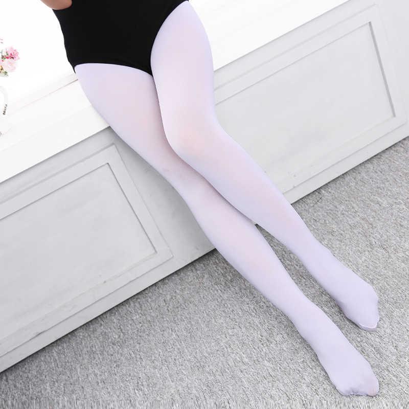 d1ff49bfc New Arrival Professional Gymnastic Ballet Dance Tights Kids Children Girls  Soft Microfiber Pantyhose