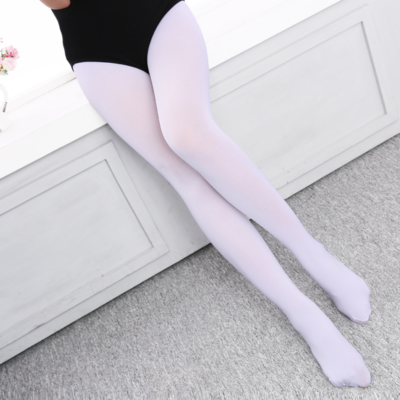 New Arrival Professional Gymnastic Ballet Dance Tights Kids Children Girls Soft Microfiber Pantyhose