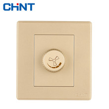 CHINT Speed Regulation Switch NEW2D Wall Socket Ceiling Fan
