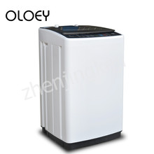 Washing Machine Fully Automatic Wave Wheel Top Opening 6KG Stainless Steel Visible Cover Lower Outlet Sterilization Quick Wash