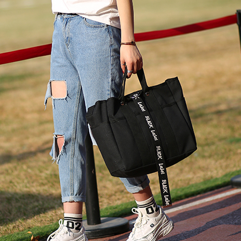 New Canvas Messenger Bag women Handbags Famous Brand Vintage Bag Retro Vintage Messenger Bag Shoulder Bags for woman in Shoulder Bags from Luggage Bags